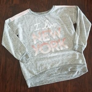 Justice Sparkly Sweat Shirt